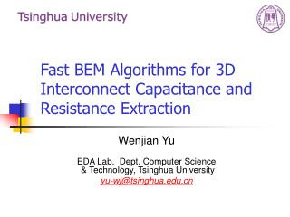Fast BEM Algorithms for 3D Interconnect Capacitance and Resistance Extraction