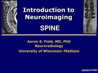 Introduction to Neuroimaging