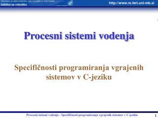 Procesni sistemi vodenja