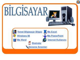 Temel Bilgisayar Bilgisi Windows 98 Ms Word