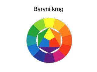 Barvni krog