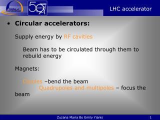 LHC accelerator