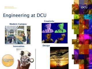 Engineering at DCU