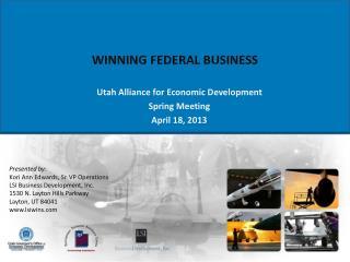 WINNING FEDERAL BUSINESS