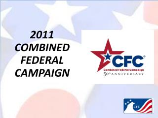 2011 COMBINED FEDERAL  CAMPAIGN