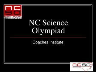 NC Science Olympiad