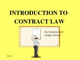INTRODUCTION TO       CONTRACT LAW
