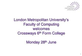 Prof. Dominic Palmer-Brown Dean of the  Faculty of Computing