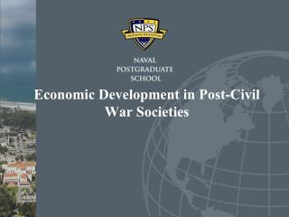 Economic Development in Post-Civil War Societies