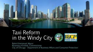 Taxi Reform in the Windy City