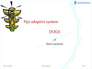 Nyt adaptivt system DOGS af  Steen Lauritzen
