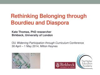 Rethinking Belonging through Bourdieu and Diaspora