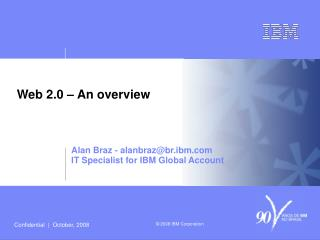 Web 2.0 – An overview