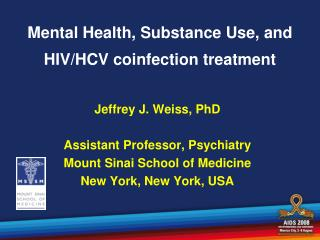 Mental Health, Substance Use, and HIV/HCV coinfection treatment