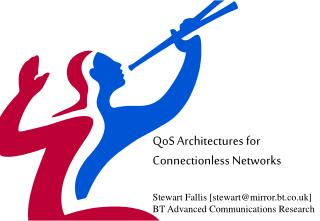 QoS Architectures for Connectionless Networks