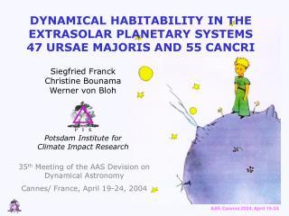 DYNAMICAL HABITABILITY IN THE EXTRASOLAR PLANETARY SYSTEMS 47 URSAE MAJORIS AND 55 CANCRI