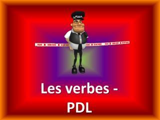 Les  verbes  - PDL