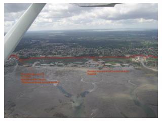 Port de Gujan: Km 38 To+5h15 Nicolas et Alain devant St�phane et Bruno pas loin derri�re