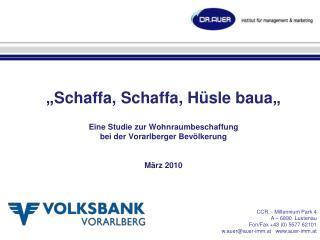 CCR. - Millennium Park 4 A – 6890  Lustenau Fon/Fax +43 (0) 5577 62101