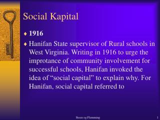 Social Kapital