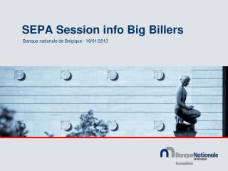 SEPA Session info Big Billers