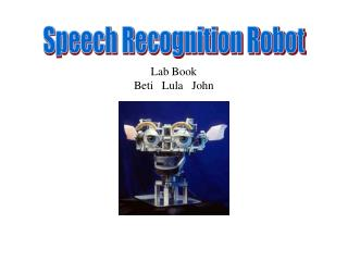 Speech Recognition Robot