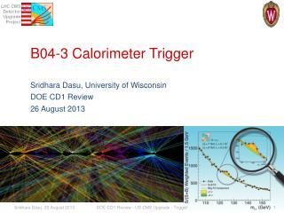 B04-3 Calorimeter Trigger