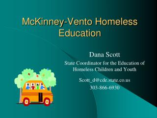 McKinney-Vento Homeless Education
