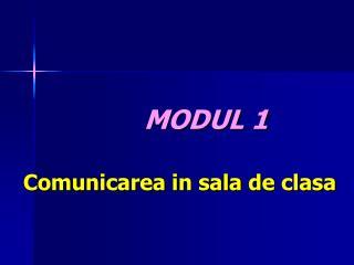 Comunicarea  in  sala  de  clasa