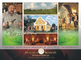 Bezerics Nemeth House of Wine Ltd