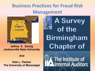 Business Practices for Fraud Risk Management