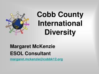 Cobb County International Diversity