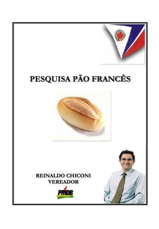 PESQUISA PÃO FRANCÊS