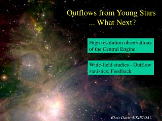 Outflows from Young Stars  ... What Next?