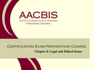 Chapter 8: Legal and Ethical Issues