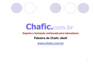 Chafic. com.br