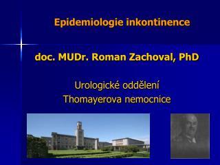 Epidemiologie inkontinence