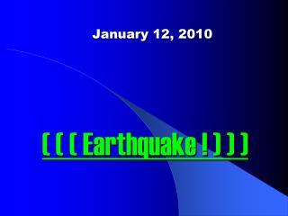 January 12, 2010