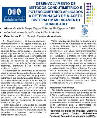 Aluna:  Graziella Sarpe Capo - Ciências Biológicas – FAFIL