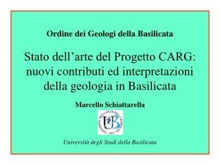 Geologia della Basilicata