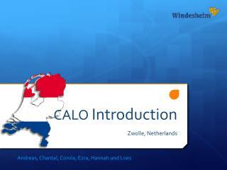 CALO  Introduction