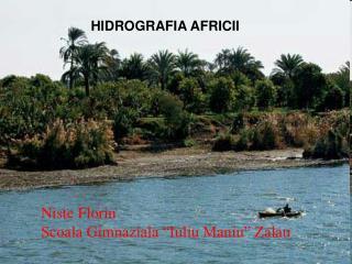 HIDROGRAFIA AFRICII