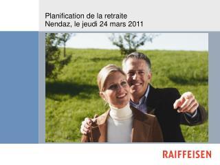 Planification de la retraite