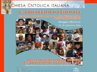 16.00 Presentazione del Convegno 16.30 Preghiera d'inizio