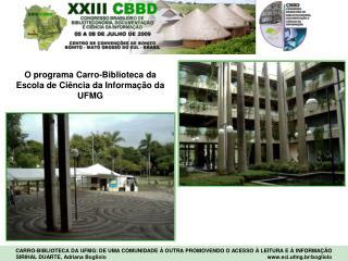 O programa Carro-Biblioteca da Escola de Ciência da Informação da UFMG