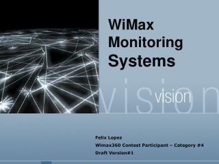 WiMax  Monitoring  Systems