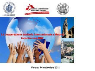 La cooperazione sanitaria internazionale a Verona: incontro con MSF