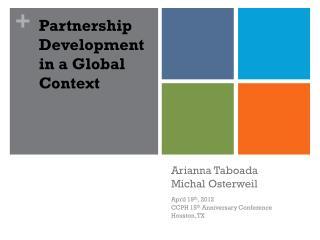 Arianna Taboada Michal  Osterweil
