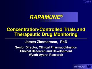 Concentration-Controlled Trials and Therapeutic Drug Monitoring