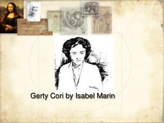 Gerty Cori by Isabel Marin